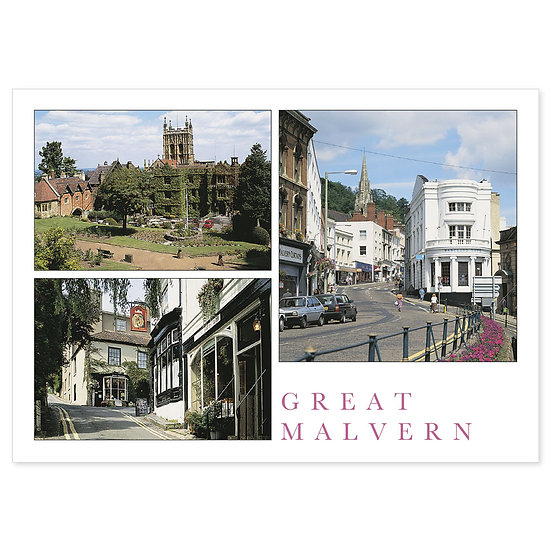Great Malvern - Sold in pack (100 postcards)