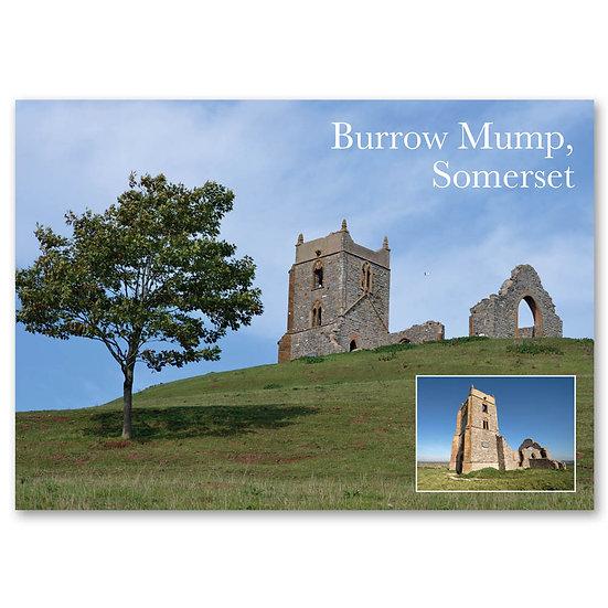 Bridgewater, Burrow Mump - Sold in pack (100 postcards)