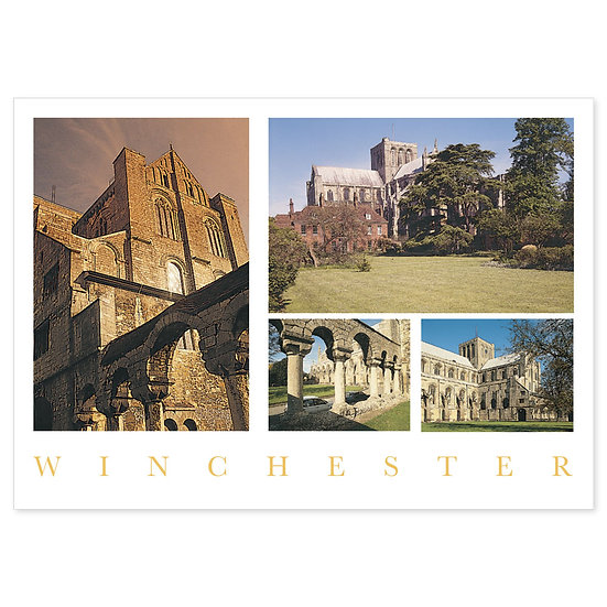 Winchester Cathedral Compilation - Sold in pack (100 postcards)