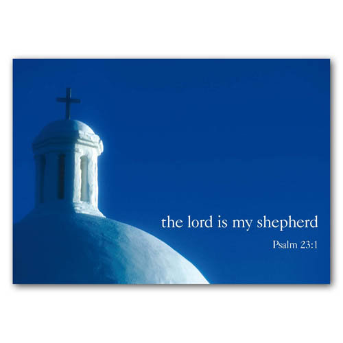 Bible Verse The Lord Is My ... - Sold in pack (100 postcards)