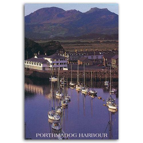 Porthmadog Harbour - Sold in pack (100 postcards)