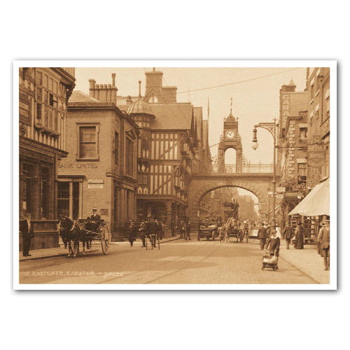 Chester the Eastgate - Sold in pack (100 postcards)