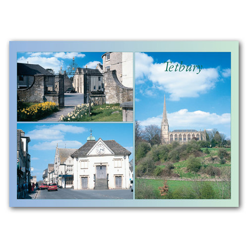Tetbury Comp - Sold in pack (100 postcards)
