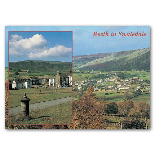 Reeth in Swaledale - Sold in pack (100 postcards)