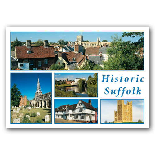 Suffolk Historic - Sold in pack (100 postcards)