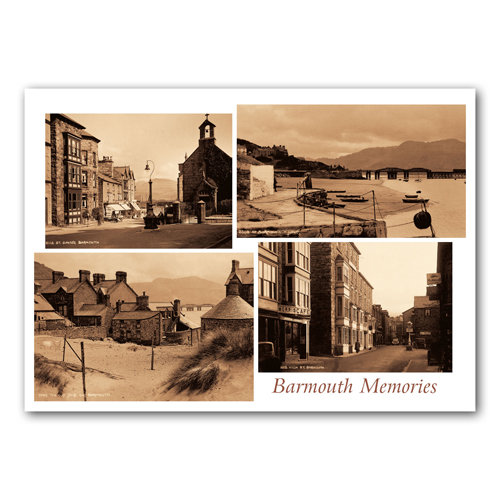 Barmouth Memories - Sold in pack (100 postcards)