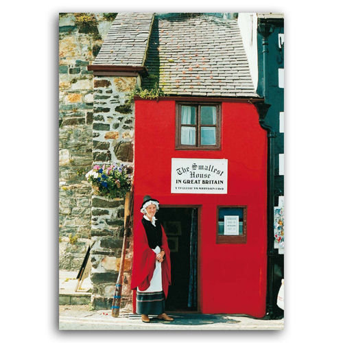 Conwy Smallest House - Sold in pack (100 postcards)