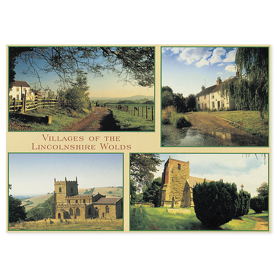 Lincolnshire Comp - Sold in pack (100 postcards)