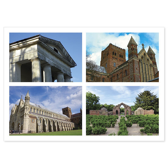 Hertfordshire Historic - Sold in pack (100 postcards)