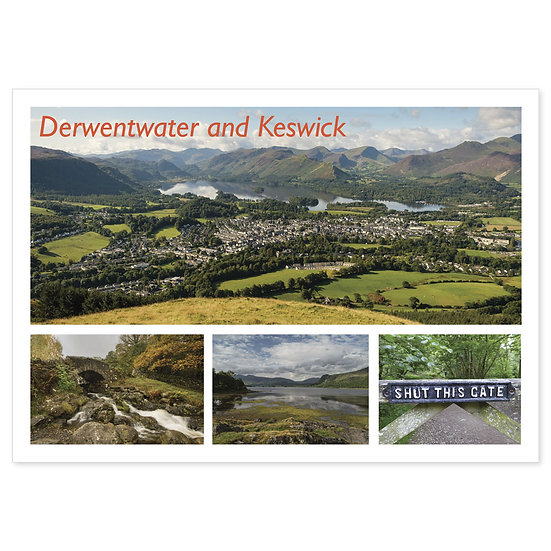 Derwentwater and Keswick - Sold in pack (100 postcards)