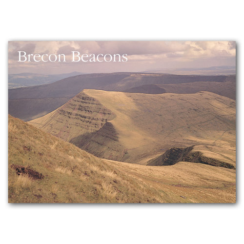 Brecon Beacons Sugar Loaf - Sold in pack (100 postcards)