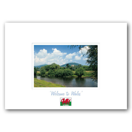 Wales Welcome To - Sold in pack (100 postcards)