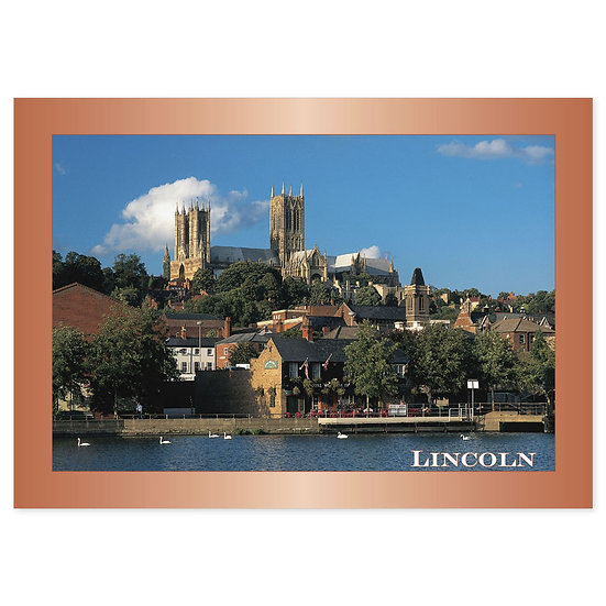 Lincoln - Sold in pack (100 postcards)