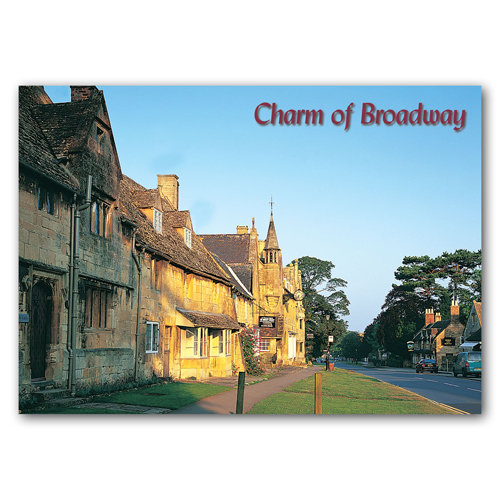 Broadway Charm - Sold in pack (100 postcards)