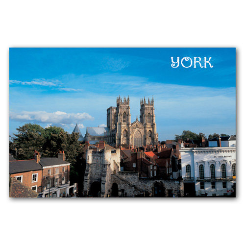 York Bootham Bar - Sold in pack (100 postcards)