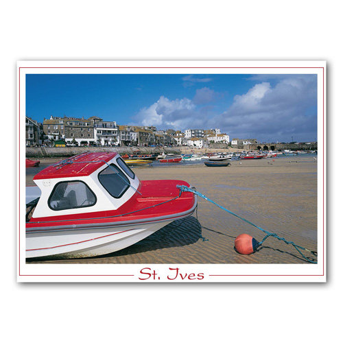 Cornwall St Ives - Sold in pack (100 postcards)