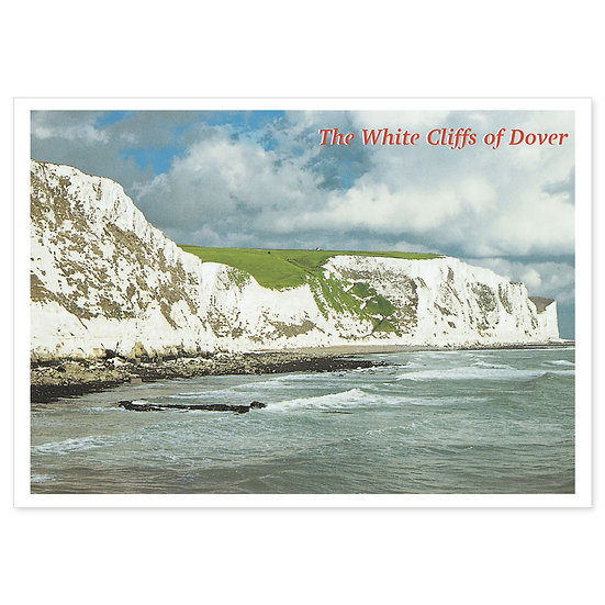 Dover The White Cliffs - Sold in pack (100 postcards)