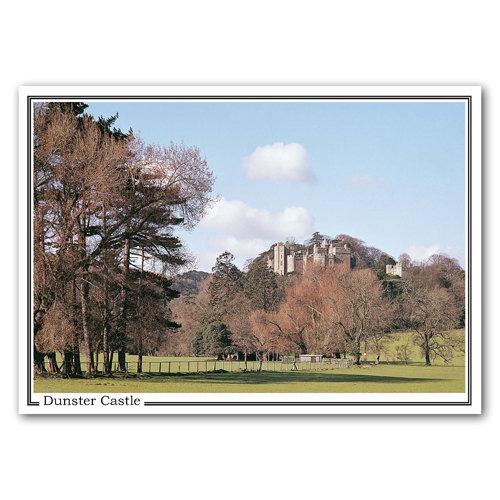 Dunster Castle - Sold in pack (100 postcards)