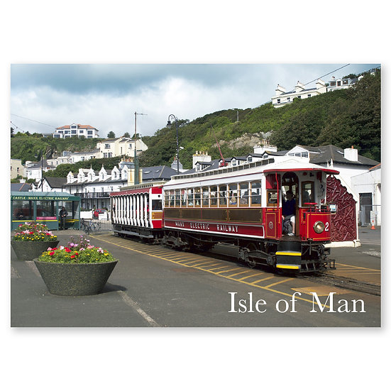 Isle of Man : Electric Railway - Sold in pack (100 postcards)