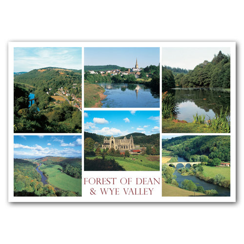 Forest of Dean and Wye Valley - Sold in pack (100 postcards)