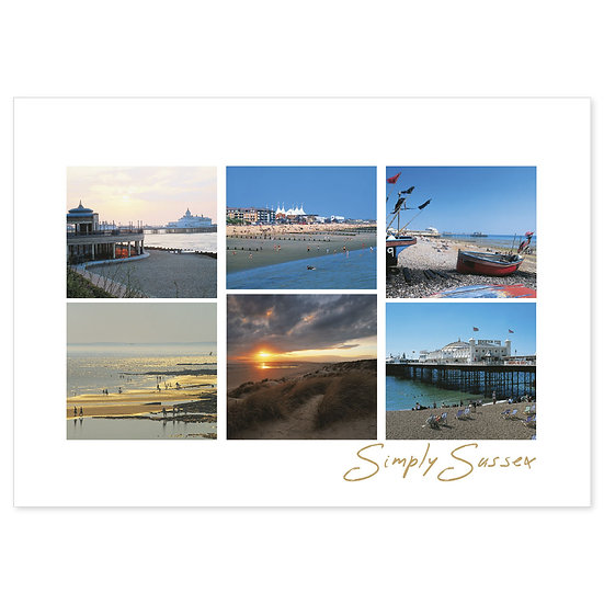 Sussex Simply - Sold in pack (100 postcards)