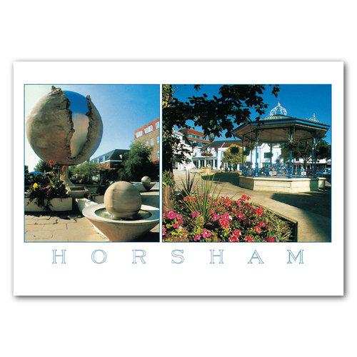Horsham - Sold in pack (100 postcards)