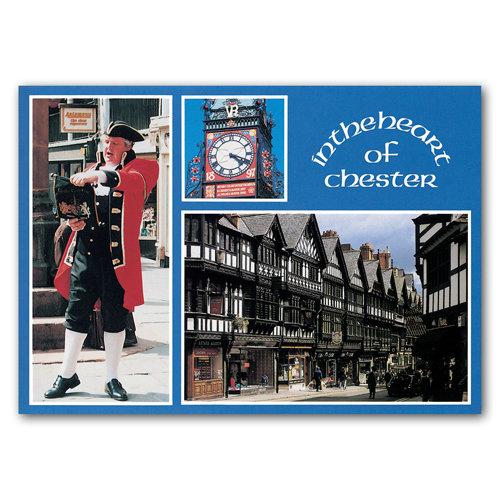 Chester In The Heart Of - Sold in pack (100 postcards)