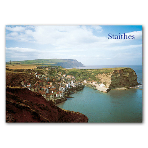 Staithes - Sold in pack (100 postcards)