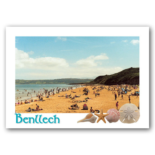 Benllech - Sold in pack (100 postcards)