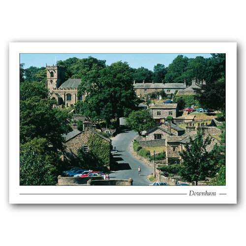 Downham near Clitheroe - Sold in pack (100 postcards)