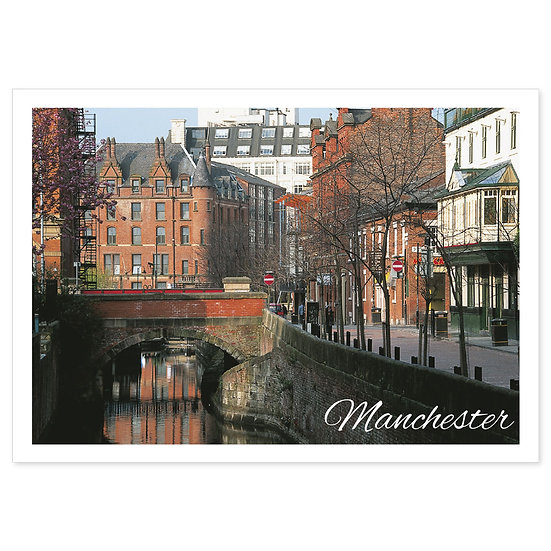 Manchester River - Sold in pack (100 postcards)