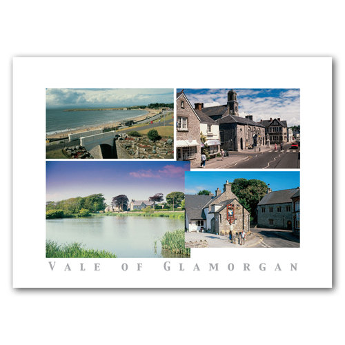 Glamorgan Vale of - Sold in pack (100 postcards)