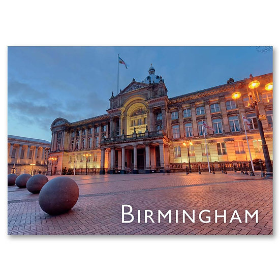 Birmingham Council House - Sold in pack (100 postcards)