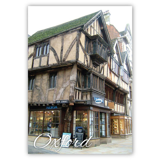 Oxford Old - Sold in pack (100 postcards)