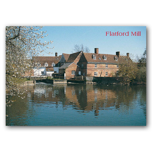 Constable Country Flatford Mill - Sold in pack (100 postcards)