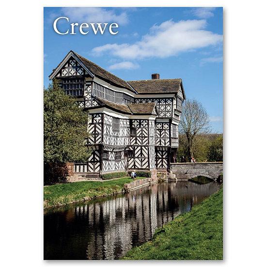 Crewe, Little Moreton Hall  - Sold in pack (100 postcards)