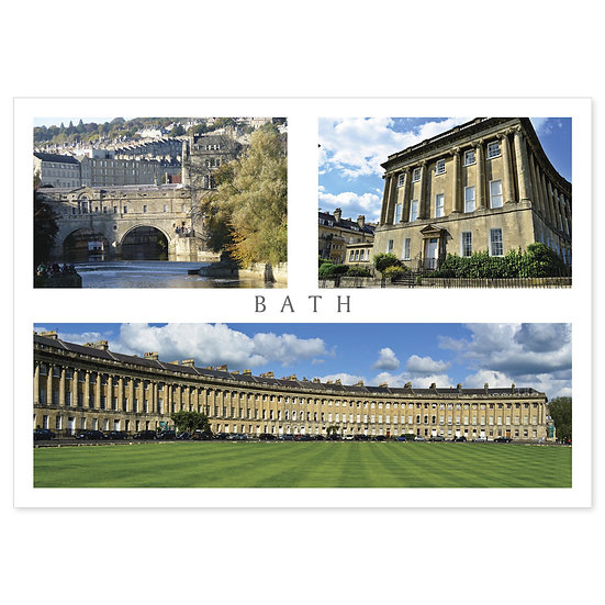 Bath Compilation - Sold in pack (100 postcards)