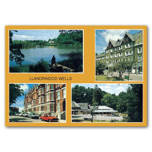 Llandrindod Wells Comp - Sold in pack (100 postcards)