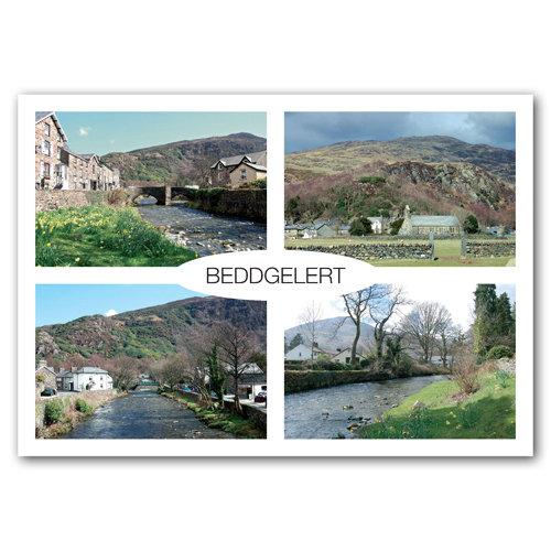 Beddgelert View Comp - Sold in pack (100 postcards)