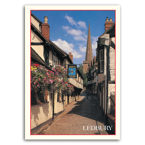 Ledbury - Sold in pack (100 postcards)