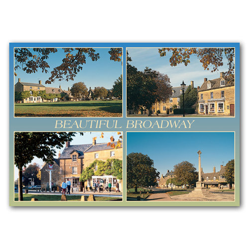 Broadway Beautiful Comp - Sold in pack (100 postcards)