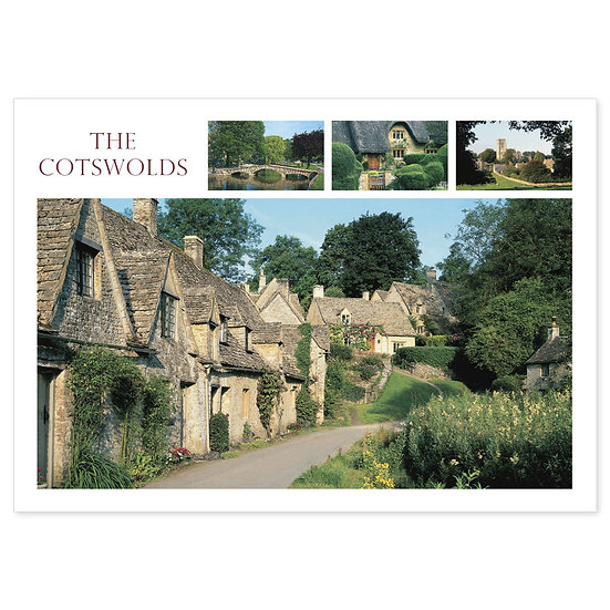 Cotswolds 4 View Comp - Sold in pack (100 postcards)