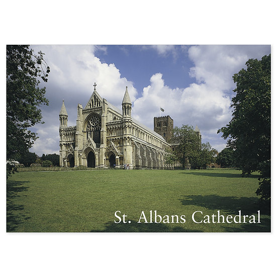 St Albans Cathedral - Sold in pack (100 postcards)