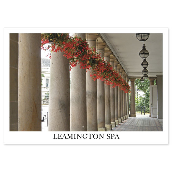 Leamington Spa  Royal Pump Room and Baths - Sold in pack (100 postcards)