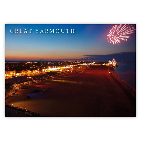 Great Yarmouth, Golden Mile - Sold in pack (100 postcards)