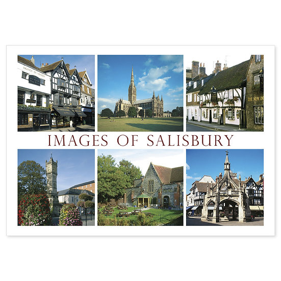 Salisbury Images - Sold in pack (100 postcards)
