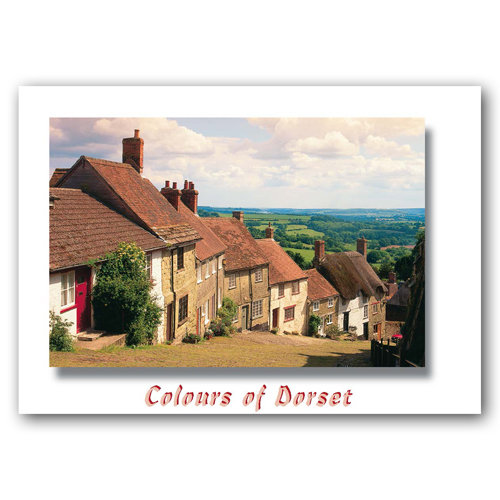 Dorset Just Shaftesbury - Sold in pack (100 postcards)