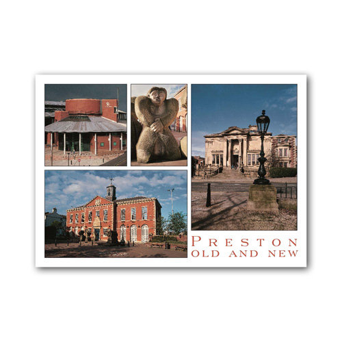 Preston Old & New Comp - Sold in pack (100 postcards)