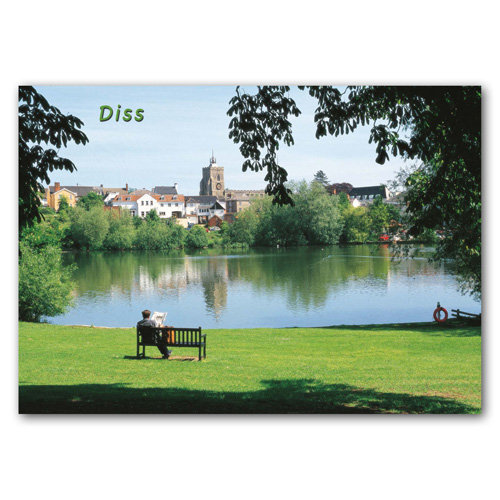 Diss Norfolk - Sold in pack (100 postcards)