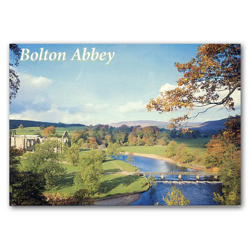 Bolton Abbey - Sold in pack (100 postcards)